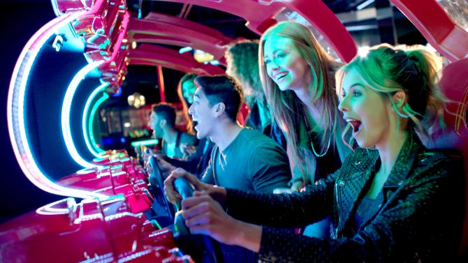 Play Games at Dave and Buster's