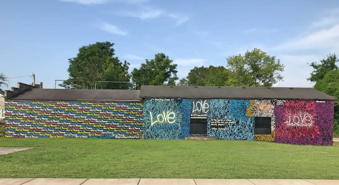 World Peace Mural in Bowling Green, Ky.