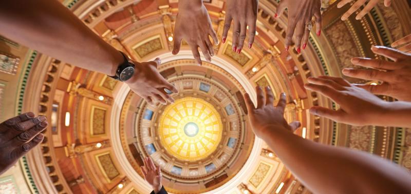 Michigan State Capitol Dome