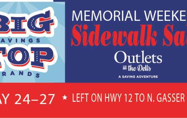 Memorial Day Sidewalk Sales
