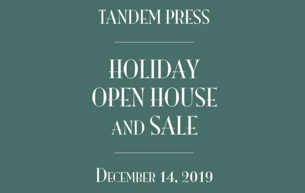 2019 Tandem Press Holiday Open House & Sale