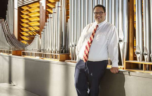 Free Farmers' Market Organ Concert with David Ball