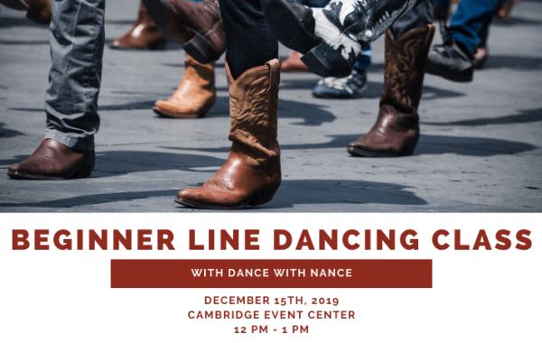 Beginner Line Dancing Class