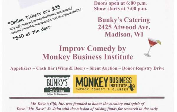 2nd Annual Comedy & Cocktails Event