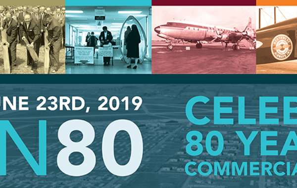 Dane County Regional Airport 80th anniversary