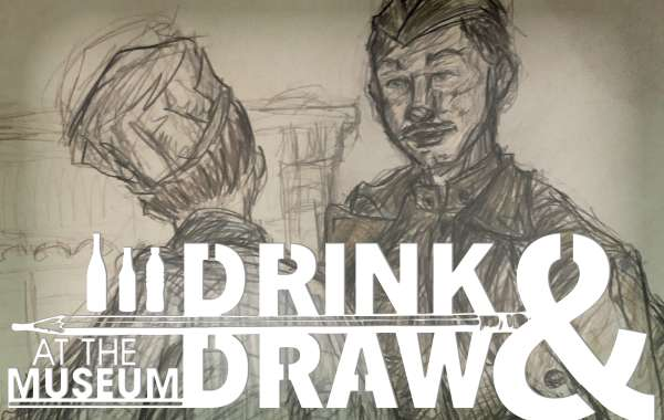 Drink-N-Draw at the Museum: Holiday Greetings