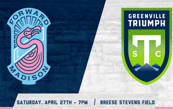 Forward Madison FC vs. Greenville Triumph SC
