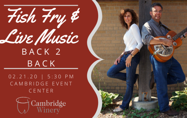 Fish Fry & Live Music By Back 2 Back