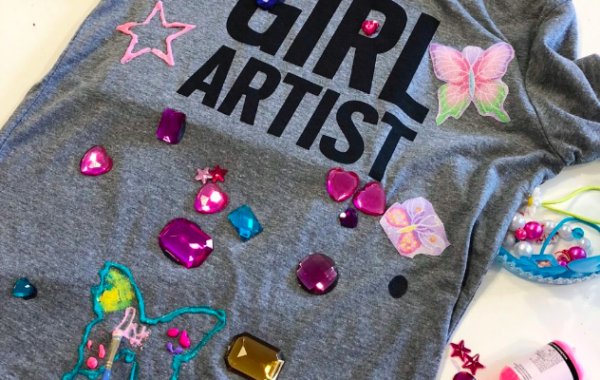 T-Shirt Decorating with Girl Wonderful