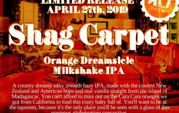 Shag Carpet Orange Dreamsicle IPA Release & Gluten Free Food