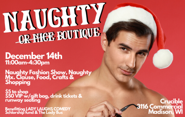 Naughty Holiday Pop-Up Boutique