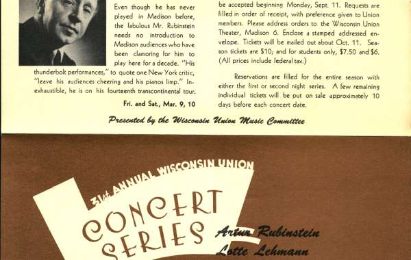 Concert Series at 100: A Legacy of Artistry Opening