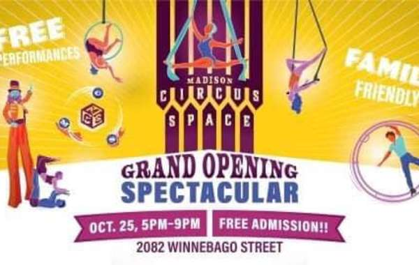 Madison Circus Space Grand Opening