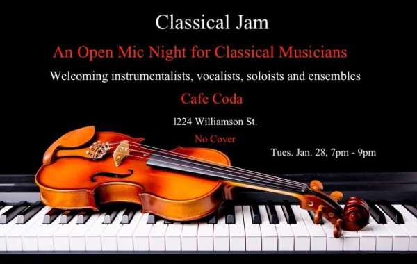 Classical Jam: An Open Mic Night For Classical Musicians