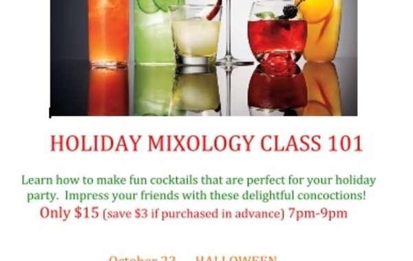 Holiday Mixology Class 101
