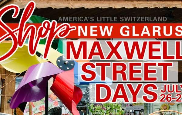 New Glarus Maxwell Street Days