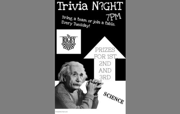 Theme Trivia at The Rigby