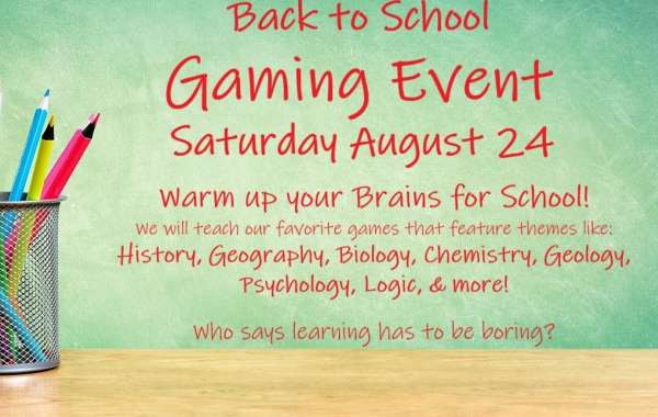 Back to School Games Day