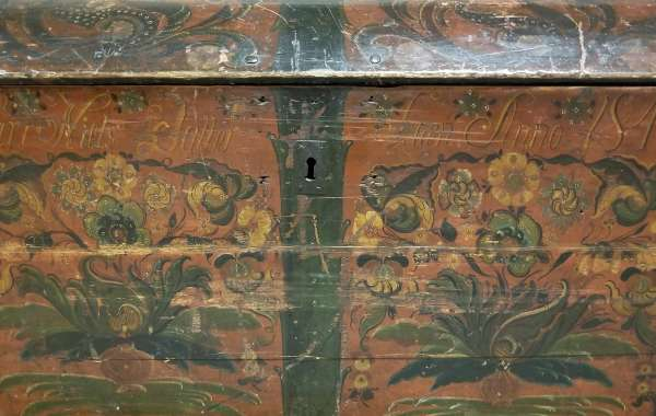 """""""The Immigrant Trunk-Hopes and Dreams Headed for America"""