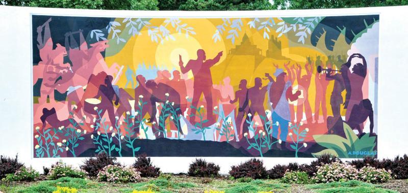 Copy of African-American murals tile