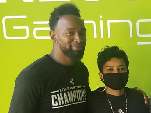 Press Play Gaming Lounge Owners Ray and Misty Embry