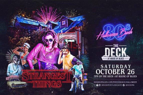 House of Blues Strangest Things Halloween 2019
