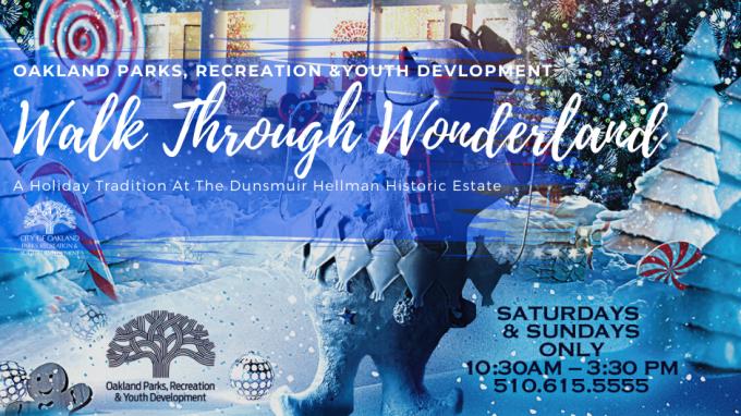 Walk through Wonderland: A Holiday Tradition at the Dunsmuir Hellman Historic Estate