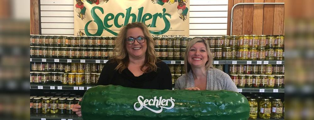 Sechler's Pickles Ad