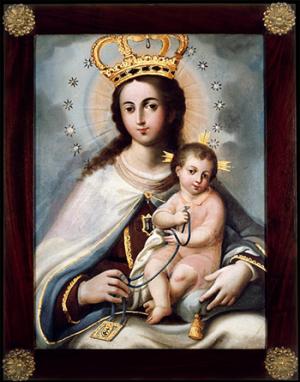 Blanton_Virgin Mary Exhibit_insideNewsletter