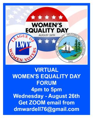 Women's Equality Day Forum
