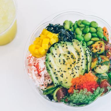 Poke Loa- Poke Seafood Bowl