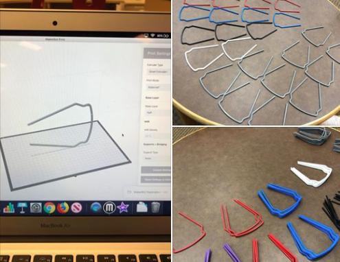 3D Printing Mask Parts