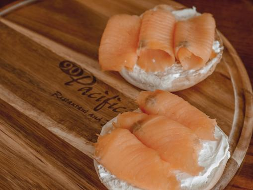 DoubleTree Irvine Spectrum 90 Pacific Smoked Salmon