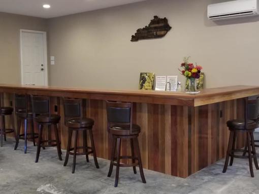 Bluegrass Vineyard Interior