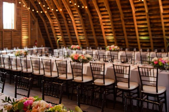 48 Fields Upper Level Barn Wedding Reception
