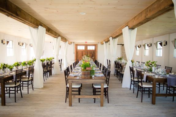 48 Fields Lower Level Barn Reception