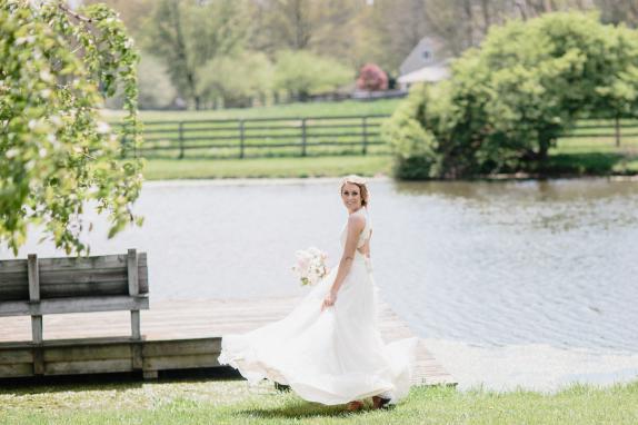 Sylvanside Bride by Pond