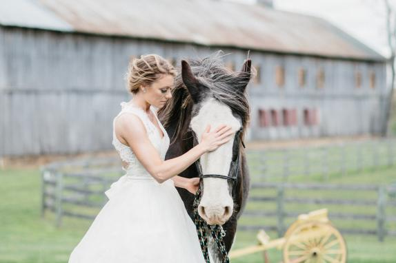 Bride, Jack and Poplar Barn
