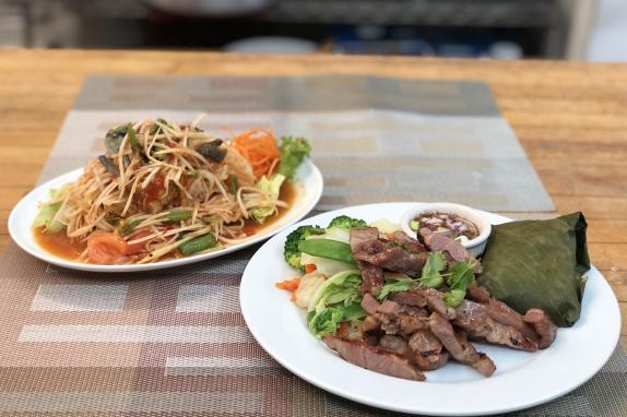 Aiyara Thai bbq pork