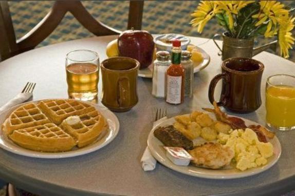 Free Hot Breakfast Buffet at Best Western Leesburg