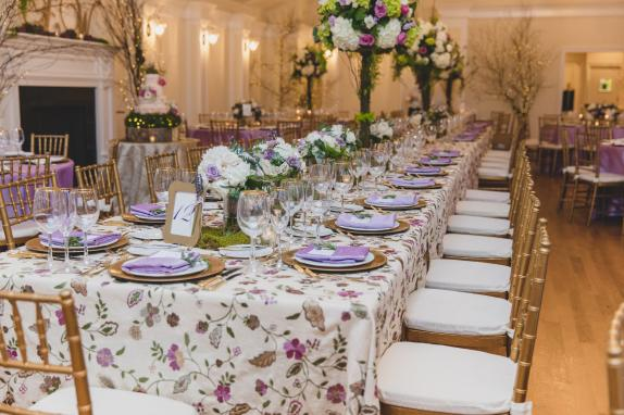 A 34 person head table