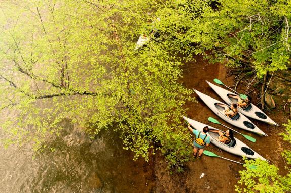 Water Adventures at Lansdowne Kayaking Image
