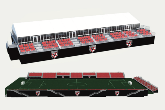 Loudoun United Stadium Rendering 1