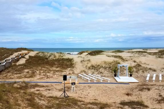 Beach Set-up