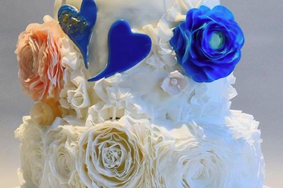 Wanda's Wedding Cake