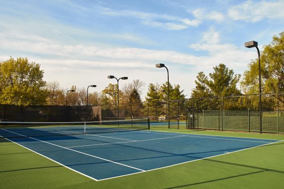 Tennis Courts at Lansdowne Resort and Spa