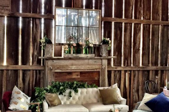 Interior Barn Setting