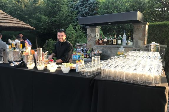 Catering and bartending services