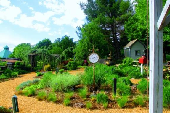 demonstration garden image