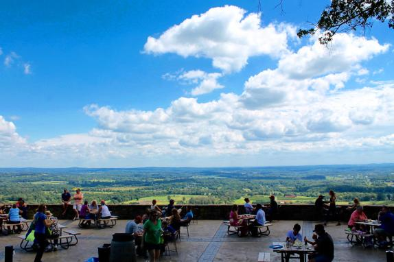 Dirt Farm Brewing Patio and View